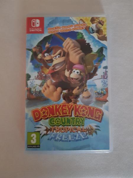 Donkey kong nintendo switch