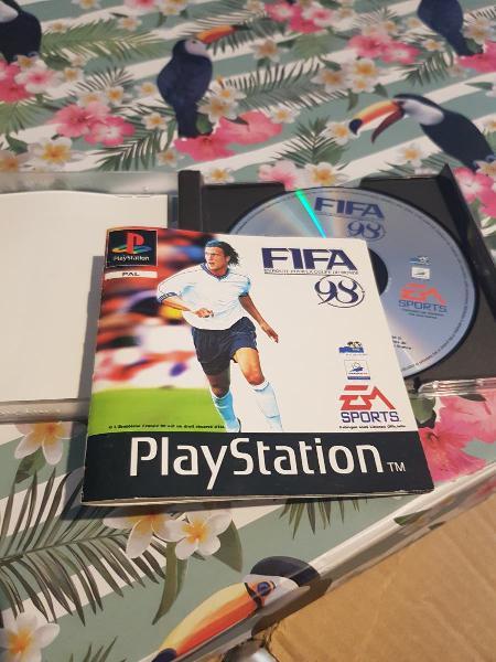 Fifa 98 edición francesa ps1