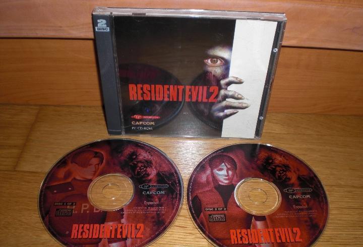 Juego de pc resident evil 2, versión española en doble