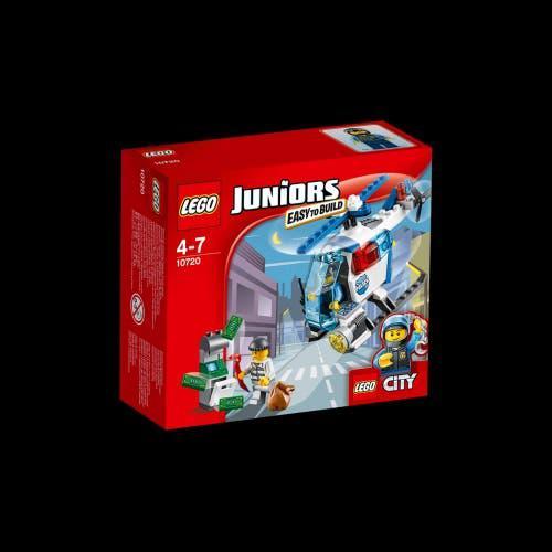Lego juniors 10720 helicóptero de policía..