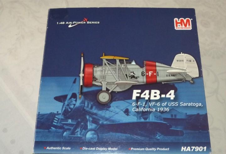 Maqueta avion marca h.m. metal escala 1/48... f4-4