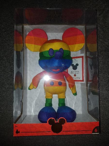 "Mickey mouse peluche amazon limitada disney 16"""