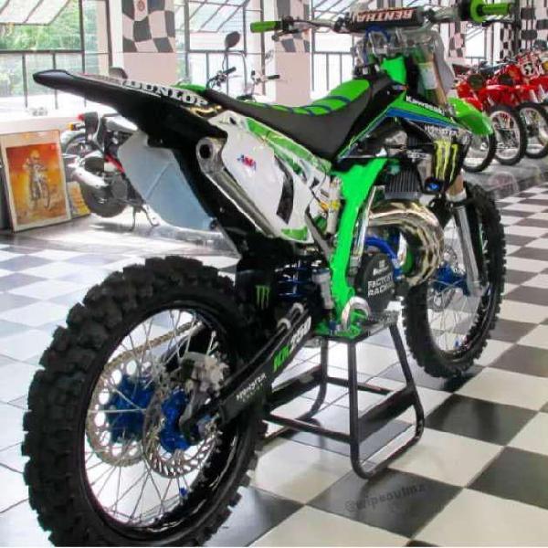 Motos de cross trial enduro