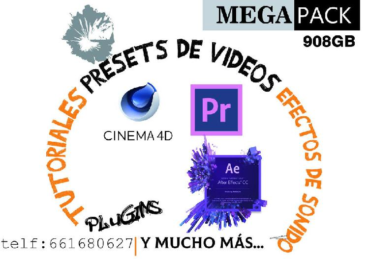 Paquete audiovisual(tutoriales,pluggins, sonidos)