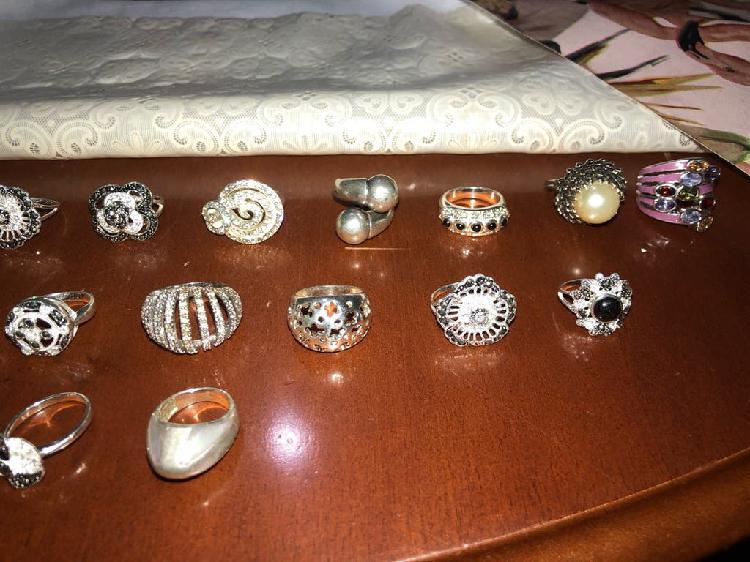 Resto de joyeria anillos de plata de ley 925
