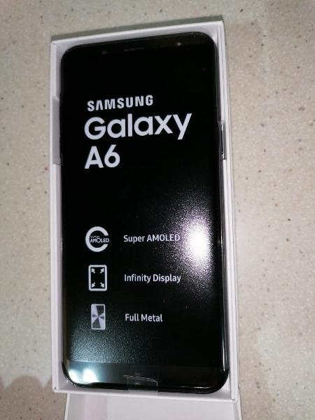 Samsung galaxy a6 32gb black
