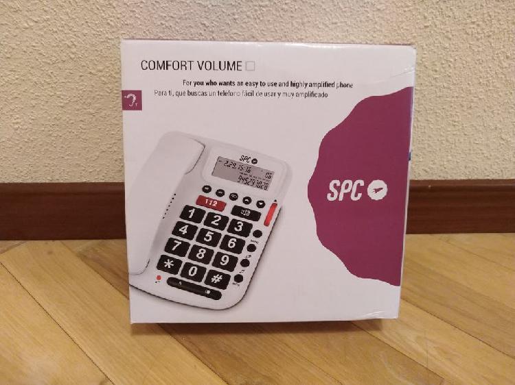 Teléfono fijo spc especial para mayores