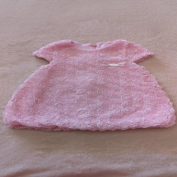 Vestido mayoral bebé niña 4-8 meses