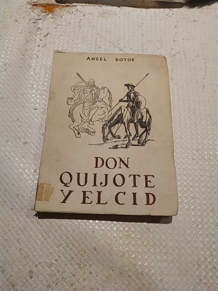 Don quijote y el cid. 1945