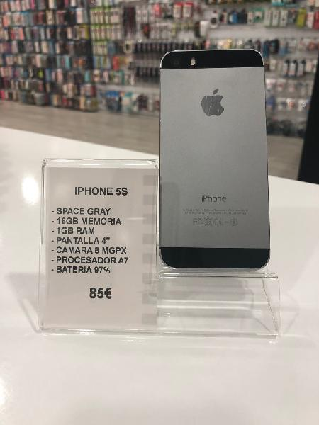 Iphone 5s/16gb space gray
