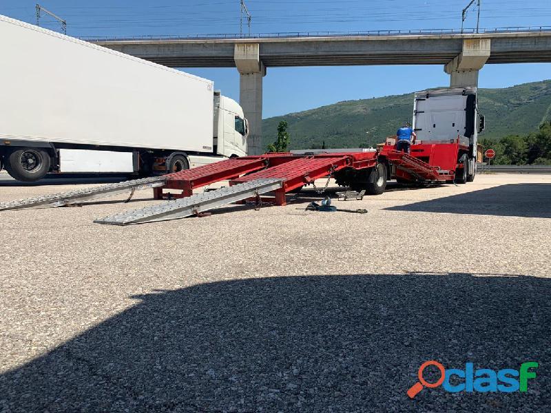 Semiremolque gondola montenegro sg16 1g