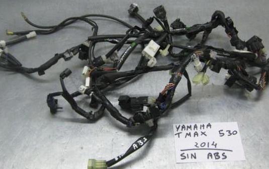 Cableado yamaha tmax 530 2014