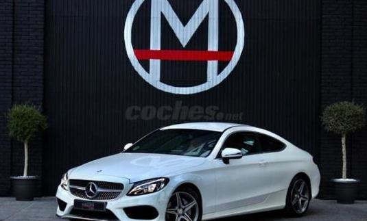 Mercedes-benz clase c c coupe 220 d amg line 2p.