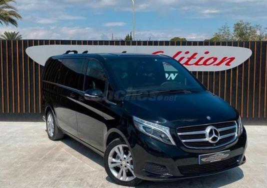Mercedes-benz clase v 220 d exclusive largo 5p.