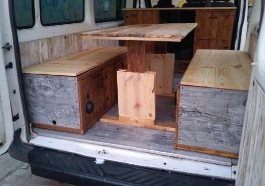 Muebles camper para furgoneta ford transit