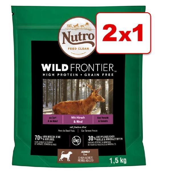 Nutro wild frontier 1,5 kg pienso para perros en oferta: 1 +