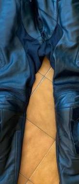 Pantalón de piel alpinestars missile v2