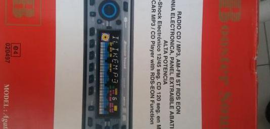 Radio cd mp3 para coche