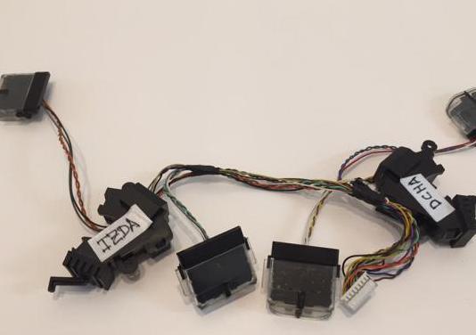 Sensores parachoques anticaida roomba