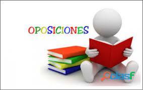 Docencia on line individual para oposiciones