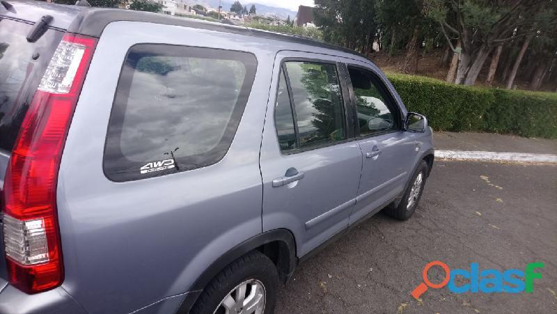 EN VENTA CRV 2006 4X4 COMO NUEVO 6