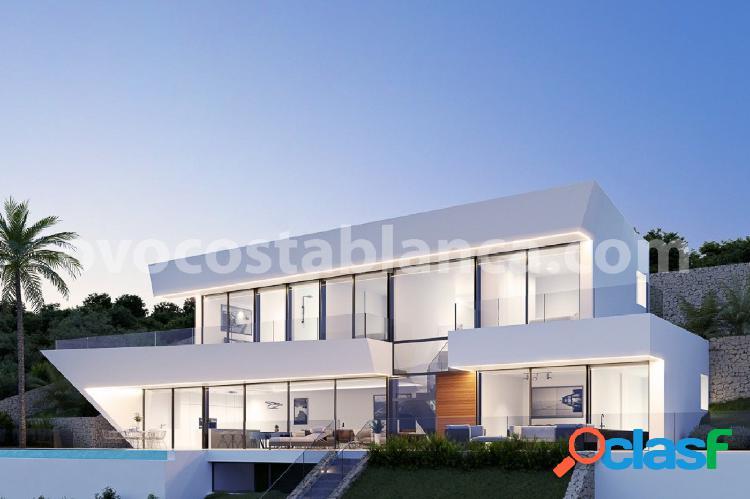 Exclusiva villa de diseño a la venta en racó de galeno