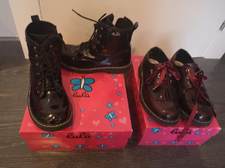 2 pares zapatos lulu.