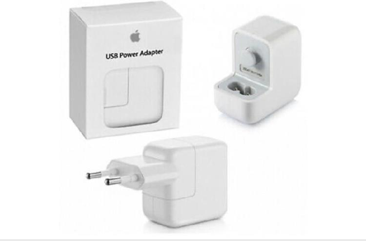 Original iPhone Lader 12W (MD836ZMA) Hvit