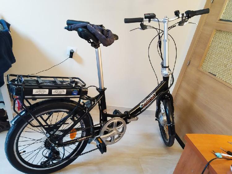 Bicicleta eléctrica plegable decathlon