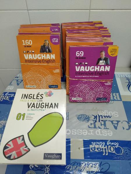 Cds cursos intensivos de inglés (método vaughan