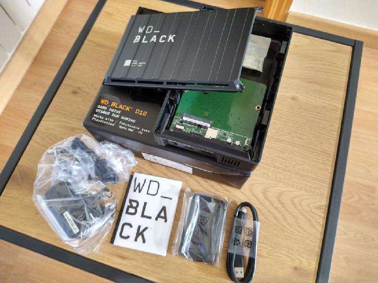 Caja disco duro wd black d10