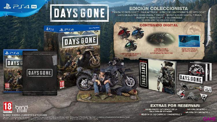 Days gone ps4 (edición coleccionista) ps4/pal esp