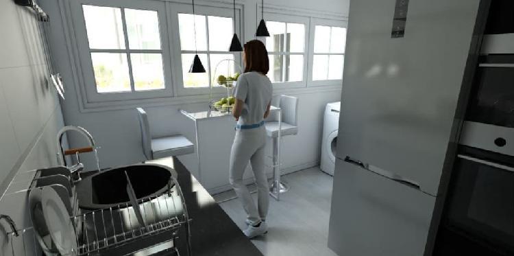 Diseñadora de gráficos de casas en 2d y 3d