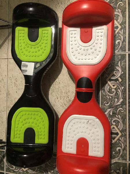 Dos patines eléctricos nilox