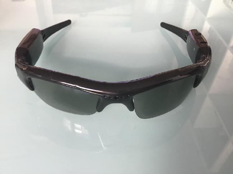 Gafas sol cámara espía hd