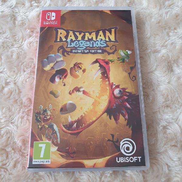 Juego rayman legends para nintendo switch