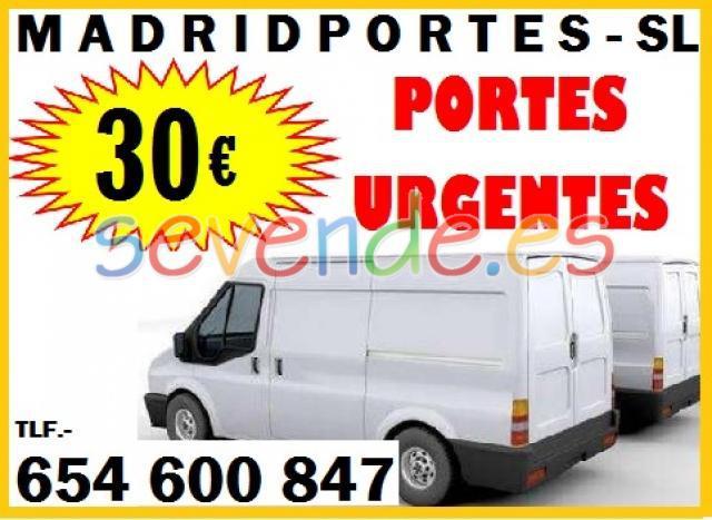 Madrid portes baratos no busque mas y llameno