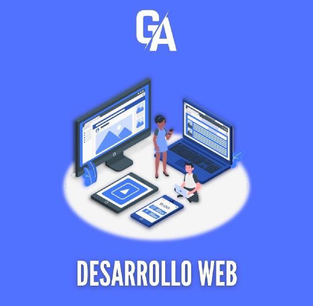 Necesitas una página web? confía en nosotros.