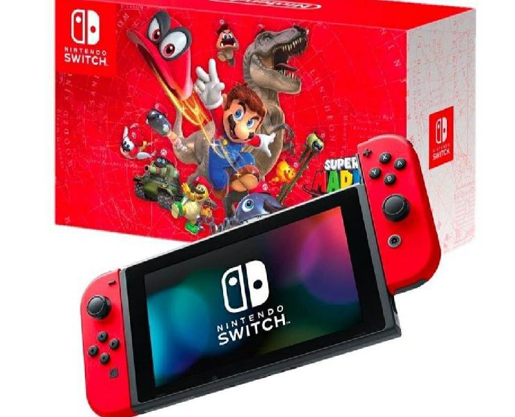 Nintendo switch edicion especial super mario odyss
