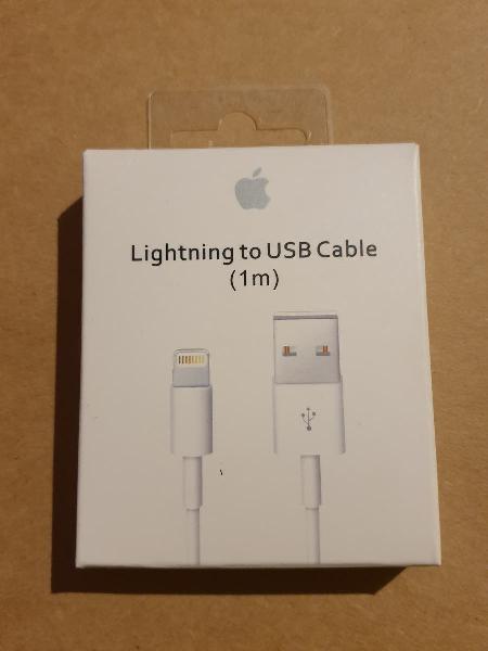 Producto liquidación cable cargador iphone