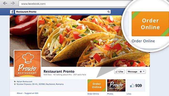 Recibe pedidos online y redes sociales