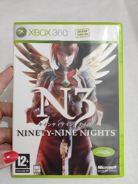 Xbox 360 n3 ninety-nine nights juego como nuevo