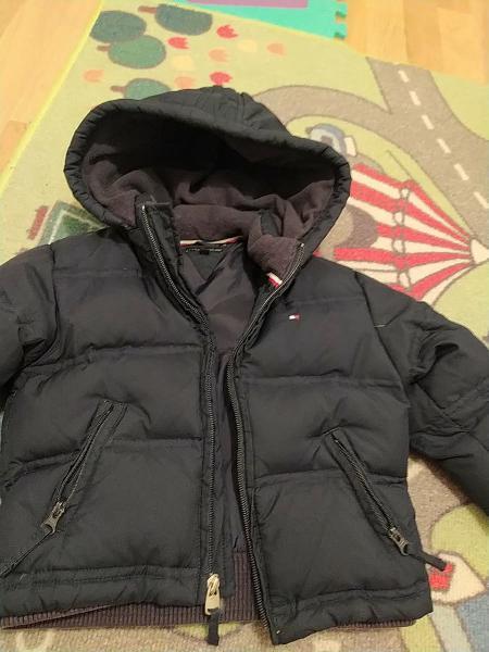 Abrigo chaqueta tommy hilfiger