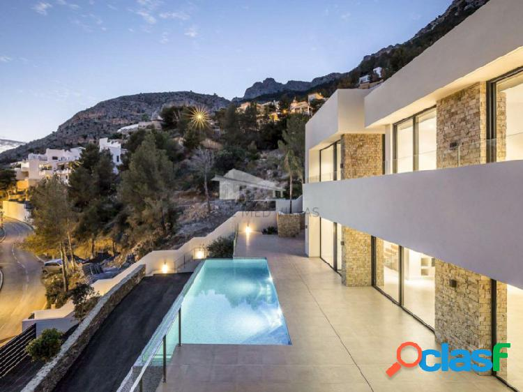 Villa de lujo de nueva construcción en venta en altea hills
