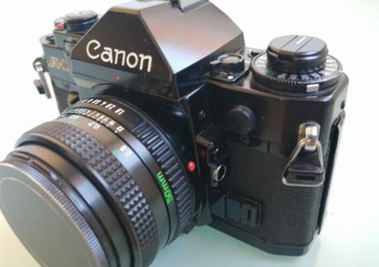 Camara reflex canon a1 lente canon fd 50mm 1:1.8