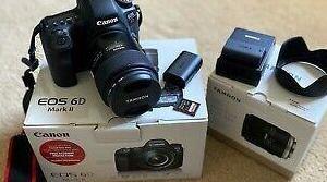 Canon 6d mark ii y tamaron 45mm f1.8