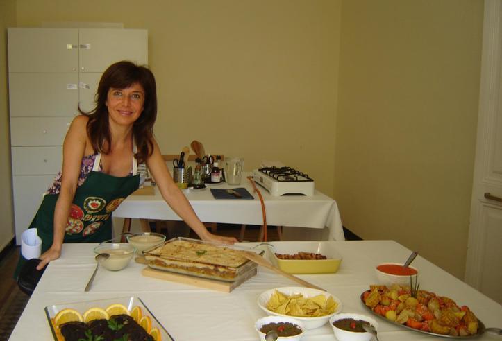 Cocino para ti en tu casa, cocina vegetariana