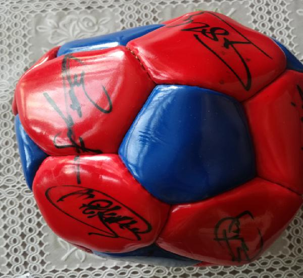 Dream team romario signed ball firmas pelota futbol fc