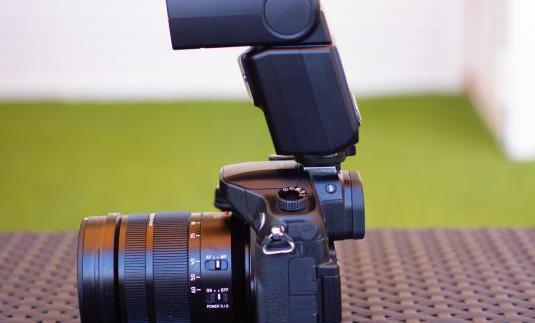 Flash para cámaras panasonic dmw-fl360le
