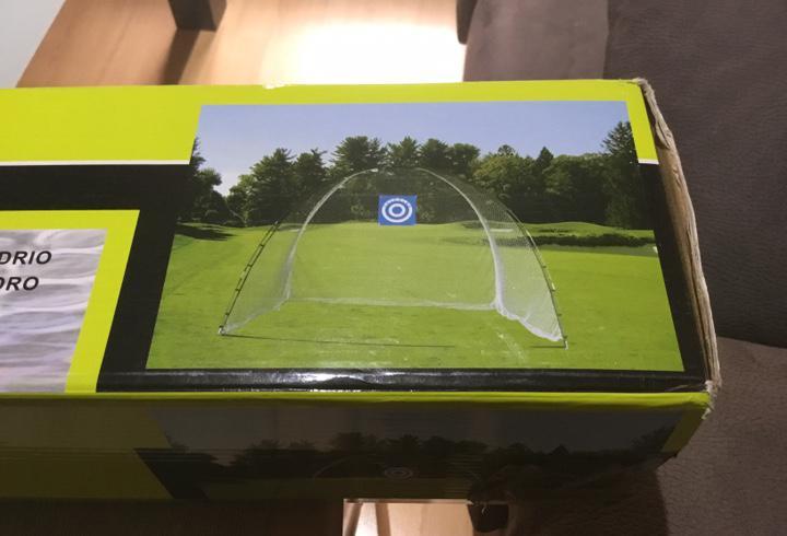 Golf red para prácticas